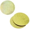 Sequins Hologram 50mm No Hole Round Yellow